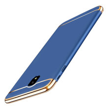 JEREFISH Samsung Galaxy J7 Pro Case Matte Metal 3 in 1 Electroplate Frame Cover for Samsung Galaxy J7 Pro Case