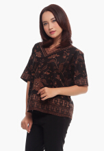Modalogie ELAINE FLOWER Dark Brown All Size