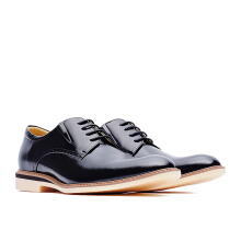 LIFE 8 Formal Casual Leather Derby Shoes - Black
