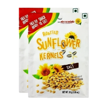 FLOWER FOOD Roasted Sunflower Kernels 30gr x 2pcs