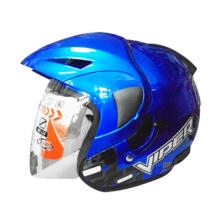 OXY Viper Solid Royal Blue Helmet Half Face