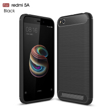 Smatton Case hp Xiaomi Redmi 5A Luxury Shockproof Case Carbon Fiber For Soft TPU Full Protect Ultra Thin Case shell