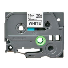 BROTHER Label Tape TZE-241 18MM Black on White