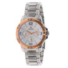 Expedition Ladies White Dial Stainless Steel [EXF-6698-BFBTRSL] Silver