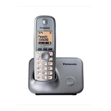 Panasonic KX-TG6611FX Cordless Phone - Black Silver