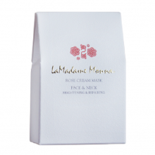 LAMADAME MONNA Brightening & Repairing Face Neck Jasmine Cream Mask [8mL*6] White