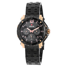 Expedition Ladies Black Dial Black Stainless Steel [EXF-6402-BFBBRBA] Black