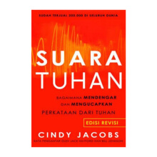 Suara Tuhan by Cindy Jacobs - Religion Book 9786024190316