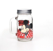 BRILIANT Mickey Mouse Mason Jar With Lid GMC2721