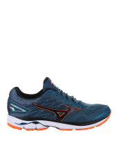 MIZUNO WAVE RIDER 20 - BLUE CORAL / BLACK / CLOWNFISH