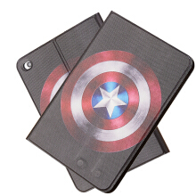 RockWolf iPad Mini 4 case Luxury leather + TPU super hero flip leather case