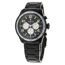 Expedition Man Chronograph Black Dial Stainless Steel [EXF-6728-MCBIPBABU]