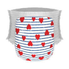 Happy Diapers Pant Heart and Stripes Popok Bayi