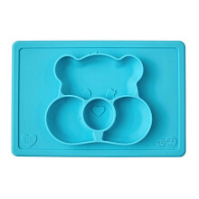 EZPZ Care Bear Mat in Wish Bear Teal