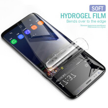 Sentum Samsung Galaxy S8 plus Hydrogel Screen Protector 3D Soft Full Cover Film   ( not Glass ) Transparent