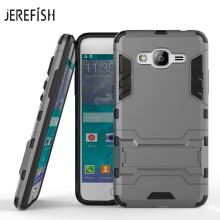 JEREFISH Phone Case For Samsung Galaxy J2 Prime Case Slim Robot Rubber Case For Samsung Galaxy J2  Prime Case