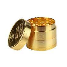 BESSKY Tobacco Herb Spice Grinder Herbal Alloy Smoke Metal Crusher NEW_ Gold