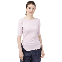 STYLEBASICS Elbow-Length Top 687 - Peach Pink