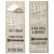 JYSK WALL DECORATION MP031 15X40CM