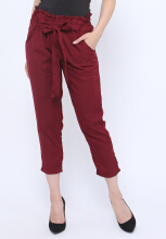 Shop at Banana Toon Pants Red All Size