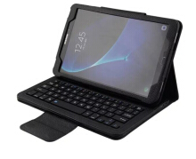 Smatton For Samsung Tab A 10.1 inch T580 Folding Bluetooth Wireless keyboard Ultra Thin Leather Tablet SA580