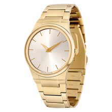 Police Silver Dial Stainless Steel [PL.12744JRSG/04MA] Gold