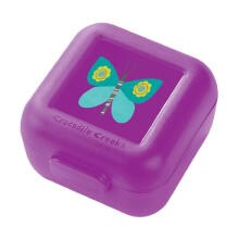 Crocodile Creek Butterfly Snack Keepr - Purple
