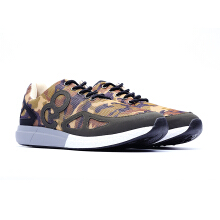 09385-Lightweight Sport Trainer Shoes With LOGO-Camo