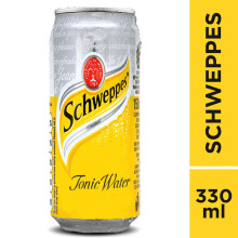 SCHWEPPES Tonic Water Can 330ml