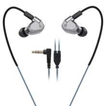 KZ ZS5 HiFi In-ear Removable Music Earphones without Microphone gray