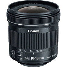 CANON EF-S 10-18mm f/4.5-5.6 IS STM - Black