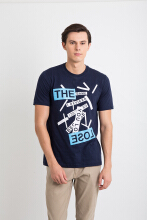 One Hours The Lose T-Shirt Men - Navy
