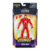 HASBRO 6 Inch Legends Iron Man AVSE1386