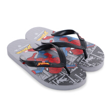 MARVEL Spider-Man Flip Flops for Kids SPDJD02 – Spidey Gray
