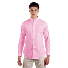 POLO RALPH LAUREN - Classic-Fit Oxford Shirt Pink Men