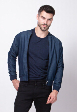 D&F Jacket Denim Fabio Biker