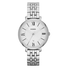 Fossil Ladies Jacqueline White Dial Stainless Steel Strap [ES3433]