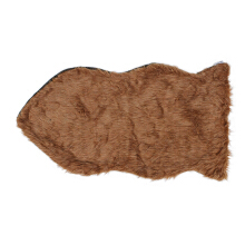 GLERRY HOME DÉCOR Fish Hazelnut Fur Rug - 60x90Cm