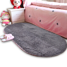 AOSEN Home  Floor Rug Modern Simple Solid Supple Comfy Bedside Mat