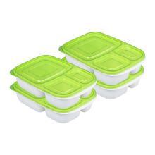 PLASTIK ONE Easy Box - EB-0011 Hijau Set of 4
