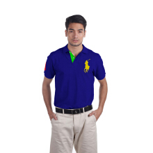 POLO RALPH LAUREN - Lacoste Custom-Fit Polo Shirt Dazzling Blue Men