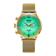 WELDER Breezy Gold Strap Gold Watch [WRC402]