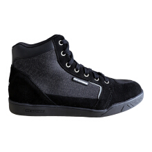 RESPIRO D-Trenz Beta Denim Sepatu Touring - Black/Black