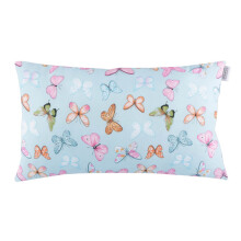 JOYLIVING Cushion Rectangular Butterfly Pink 30 cm x 50 cm - Tosca
