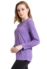 Corenationactive Basic Long Sleeve Purple