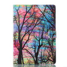 Sentum Apple iPad Air 1/iPad 5 Case Tablets Flip Stand Leather Color tree