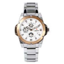 Expedition Ladies Sport White Dial Stainless Steel Watch [EXF-6696-BFBTRSL] Silver
