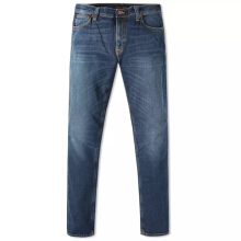 NUDIE JEANS Tight Long John Unisex - Navy Friday Blues