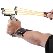 Rubber Band Slingshot Wrist Catapult Hunting Tools