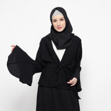 NAFEESA Alresha Black Black All Size